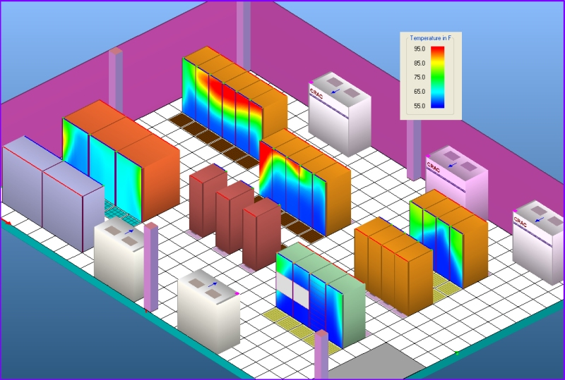Tileflow Cfd Software Products Data Center Gallery