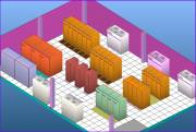 Example raised-floor data center  » Click to zoom ->